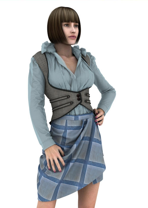 Example outfit on Victoria 4